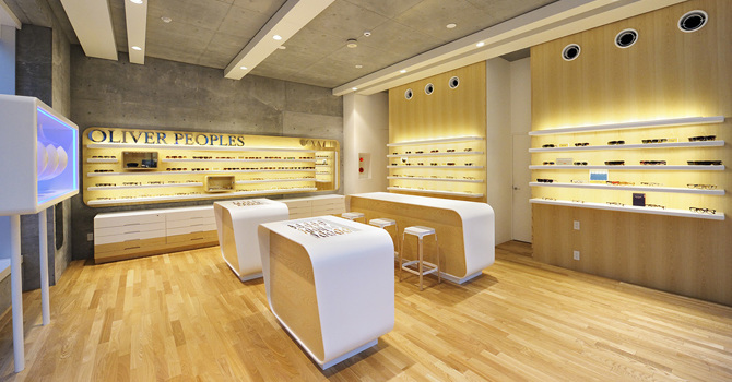 oliver peoples daikanyama retail store keith r berry